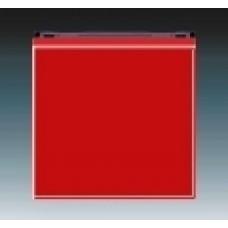 červená/dymová čierna krytka ABB Levit 3559H-A00651 65 pre vypínače č.1,6,7 a tlačidlo