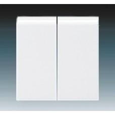 biela krytka ABB Levit 3559H-A00652 03 pre vypínače č.5 a 5b