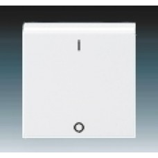 biela krytka ABB Levit 3559H-A00933 03 pre vypínač č.3
