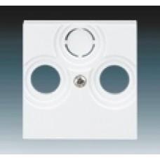 biela krytka pre SAT a TV zásuvku ABB Levit 5011H-A00300 03