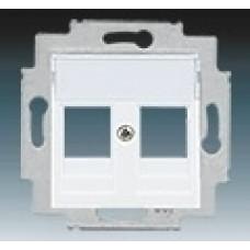 biela krytka pre dátovú zásuvku ABB Levit 5014H-A01018 03