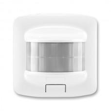 automatický spínač so senzorom pohybu ABB 3299A-A02180 B biely prístroj