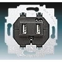 USB nabíjací prístroj ABB 6400-0-0002 do rámika