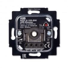 stmievač pre LED stmievateľné zdroje ABB 6512-0-0335 prístroj pre otočné ovládanie