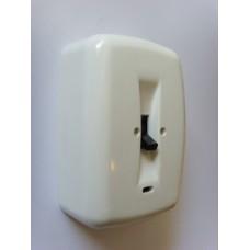 trojpólový spínač (sporákový) 400V/20A ABB 39563-13 pre povrchovú montáž biely
