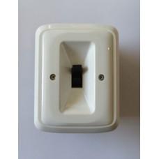 trojpólový spínač (sporákový) 400V/16A ABB 3425A-0344 B pre zapustenú montáž biely