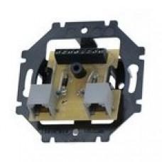telefónna dvojzásuvka ABB Tango 5013U-A00105 prístroj s doskou