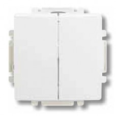vypínač č.5 ABB Swing 3557G-A05340 B1 biely