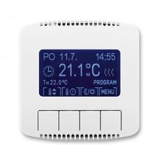 termostat programovateľný ABB Tango 3292A-A10301 B kryt biely