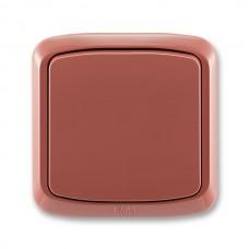vypínač č.6 ABB Tango 3558A-06940 R2 vresový červený kompletný IP44