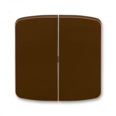 hnedá krytka ABB Tango 3558A-A652 H pre vypínače č. 5 a 5b