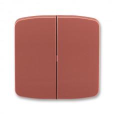 vresová červená krytka ABB Tango 3558A-A652 R2 pre vypínače č. 5 a 5b