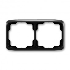 2rámik čierny ABB Tango 3901A-B20 N vodorovný