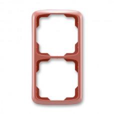 2rámik vresový červený ABB Tango 3901A-B21 R2 zvislý