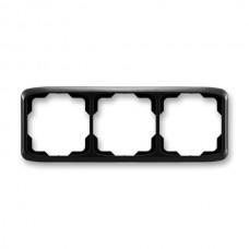 3rámik čierny ABB Tango 3901A-B30 N vodorovný