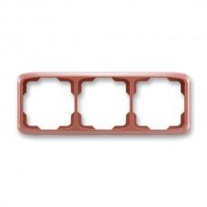 3rámik vresový červený ABB Tango 3901A-B30 R2 vodorovný