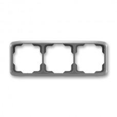 3rámik dymový šedý ABB Tango 3901A-B30 S2 vodorovný
