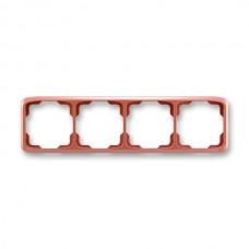 4rámik vresový červený ABB Tango 3901A-B40 R2 vodorovný