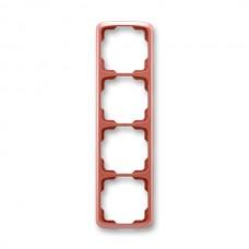 4rámik vresový červený ABB Tango 3901A-B41 R2 zvislý