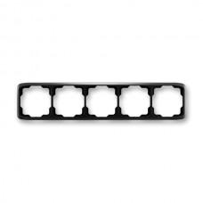 5rámik čierny ABB Tango 3901A-B50 N vodorovný