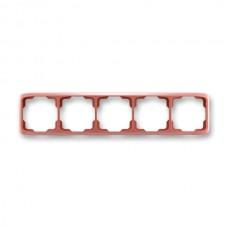 5rámik vresový červený ABB Tango 3901A-B50 R2 vodorovný