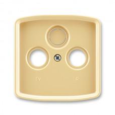 béžová krytka SAT TV RD zásuvky ABB Tango 5011A-A00300 D