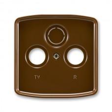 hnedá krytka SAT TV RD zásuvky ABB Tango 5011A-A00300 H