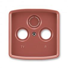 vresová červená krytka SAT TV RD zásuvky ABB Tango 5011A-A00300 R2