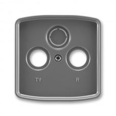 dymová šedá krytka SAT TV RD zásuvky ABB Tango 5011A-A00300 S2
