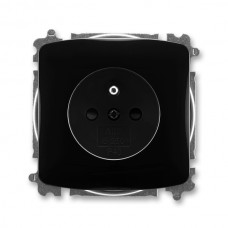 zásuvka bezskrutková ABB Tango 5519A-A02357 N čierna s clonkami