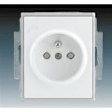 ľadovo biela zásuvka ABB Time/Element 5519E-A02357 01