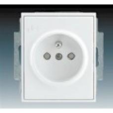 biela zásuvka ABB Time/Element 5519E-A02357 03