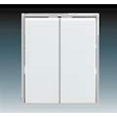 ľadovo biela krytka ABB Time 3558E-A00652 01