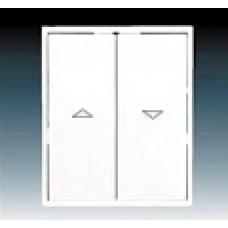biela krytka pre žalúziový spínač ABB Time 3558E-A00662 03