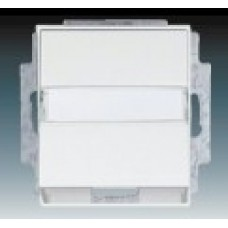 biela krytka pre dátovú zásuvku ABB Time 5014E-A00100 03