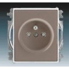 lungo/mliečna biela zásuvka ABB Time 5519E-A02357 26