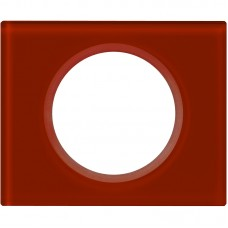 1rámik sklo červené Legrand Céliane 69471