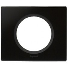 1rámik čierne sklo Legrand Céliane 69301