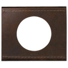 1rámik hnedá koža Legrand Céliane 69401