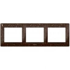 3rámik Corian cocoa brown Legrand Galealife 771703 vodorovný