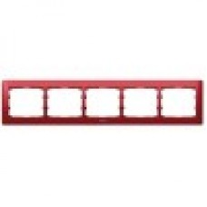 5rámik kovový červený Legrand Galealife 771905 vodorovný