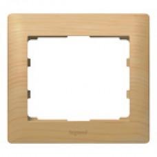 1rámik drevený rámik javor Legrand Galealife 771961