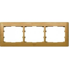 3rámik drevený rámik javor Legrand Galealife 771963 vodorovný