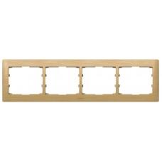 4rámik drevený rámik javor Legrand Galealife 771964 vodorovný