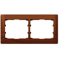 2rámik drevený rámik čerešňa Legrand Galealife 771972 vodorovný