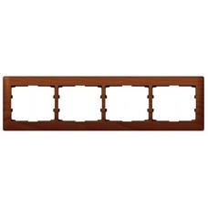 4rámik drevený rámik čerešňa Legrand Galealife 771974 vodorovný