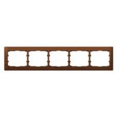 5rámik drevený rámik čerešňa Legrand Galealife 771975 vodorovný