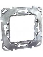 montážny kovový rámik na jeden modul alebo prístroj unica MGU7.002