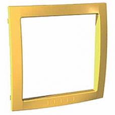 žltý vnútorný dekoračný rámik pre rámiky Schneider Unica colors MGU4.000.01