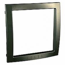bronzový vnútorný dekoračný rámik pre rámiky Schneider Unica colors MGU4.000.13